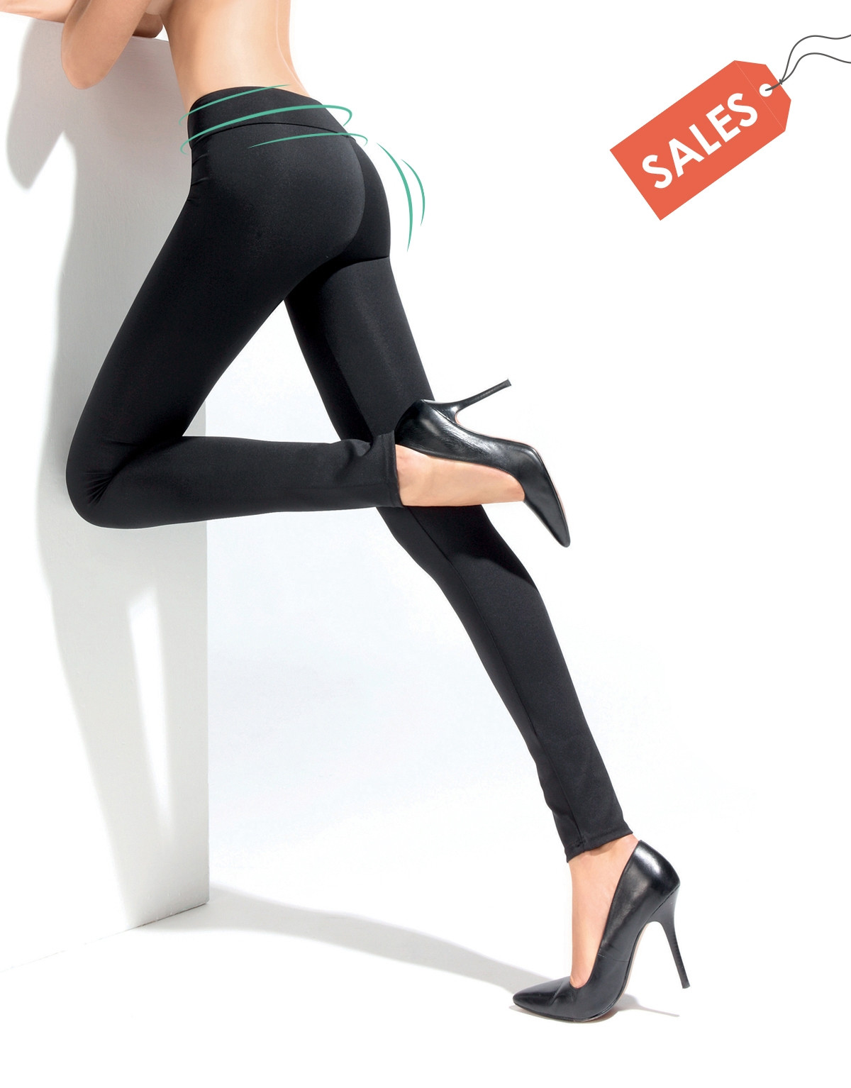 LEGGINGS PUSH UP CONTENITIVO - SHAPER