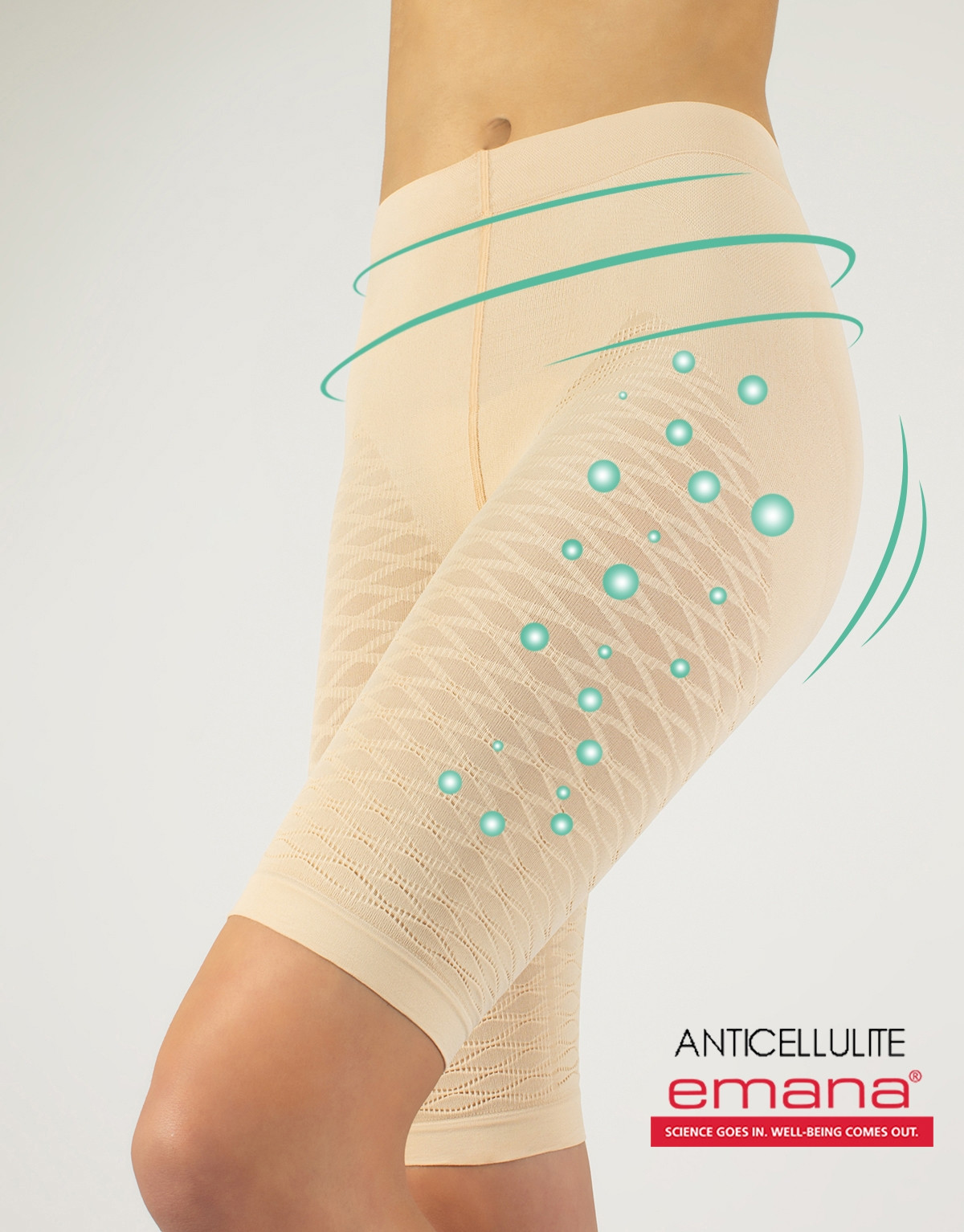 NEW ANTICELLULITE SHAPING SHORTS