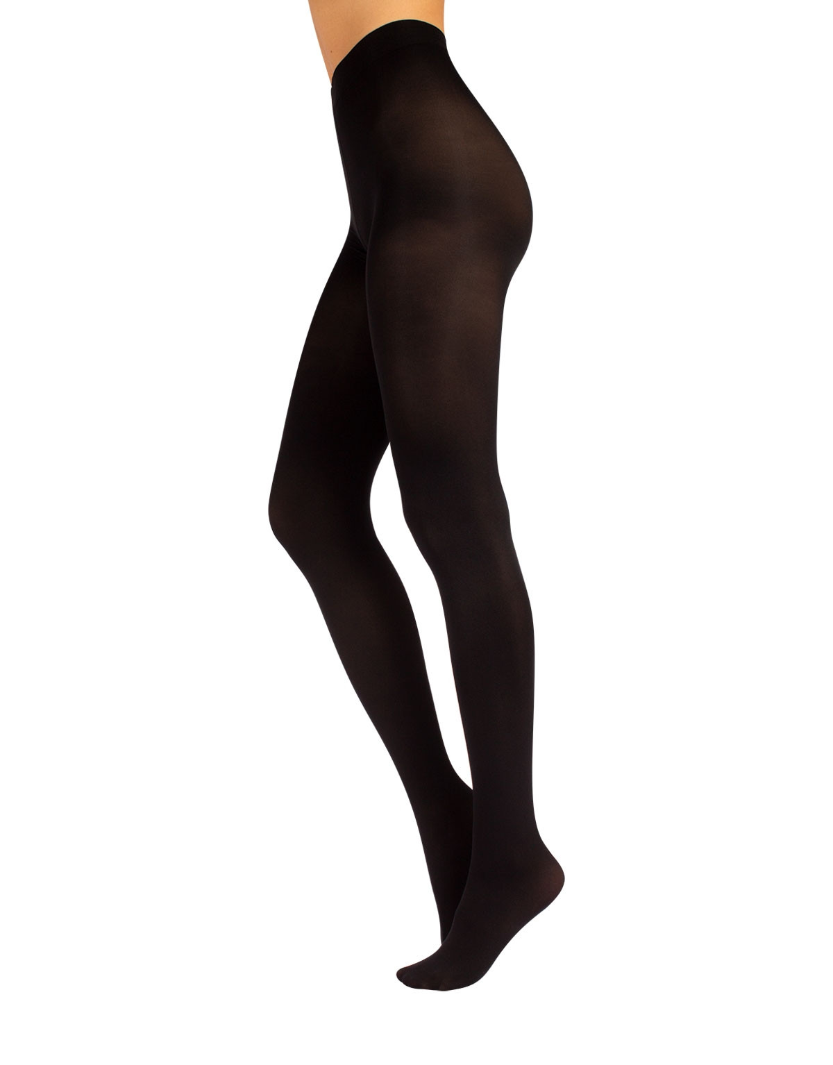 OPAQUE MICROFIBER TIGHTS - 80 DEN