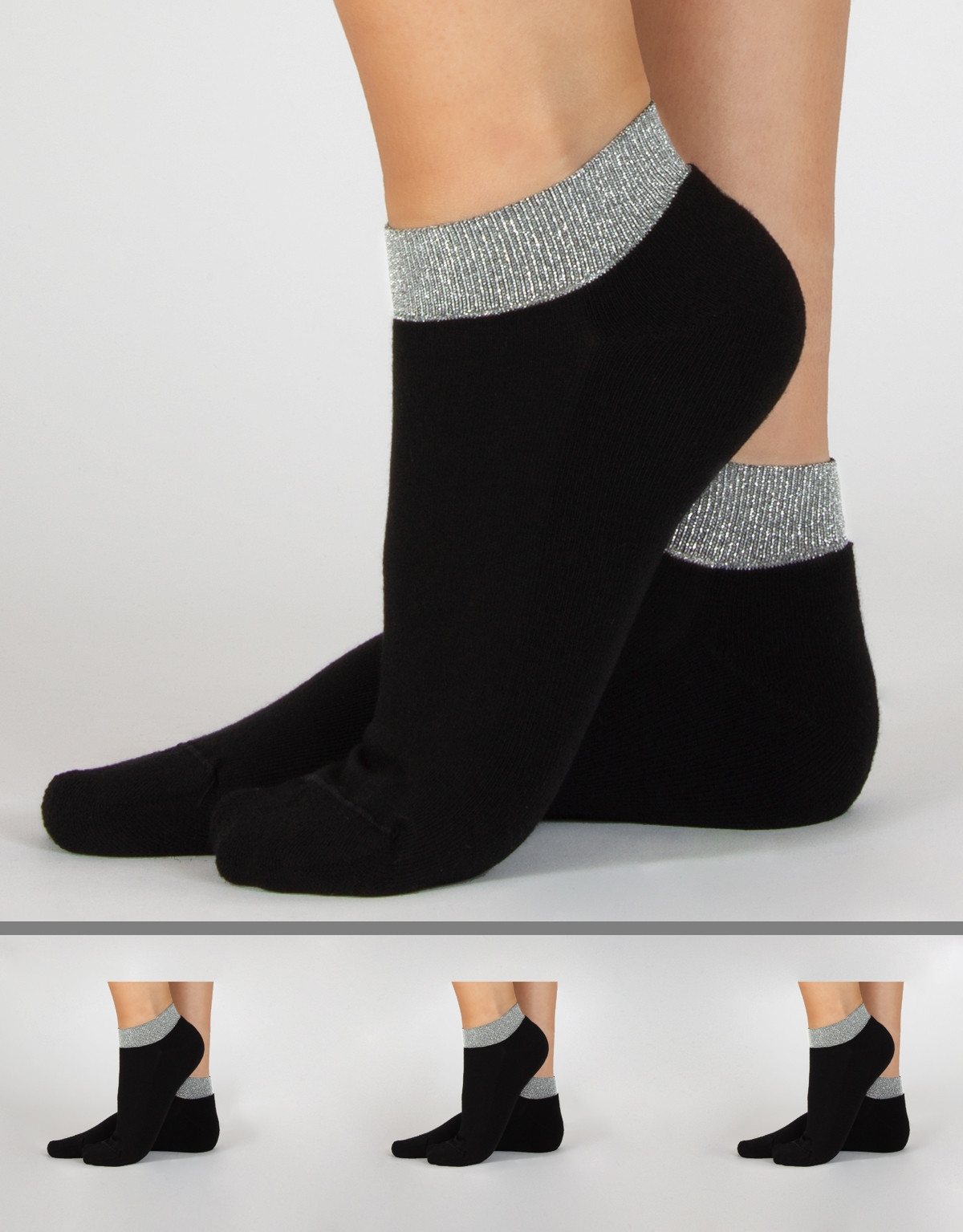 LUREX COTTON SOCKS
