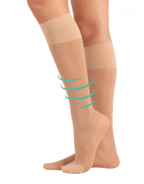 KNEE HIGH MEDIUM COMPRESSION SOCKS - 40 DEN