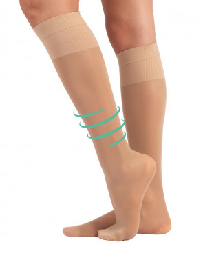 KNEE HIGH STRONG COMPRESSION SOCKS - 70 DEN