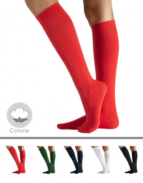 COLOURED COTTON SOCKS