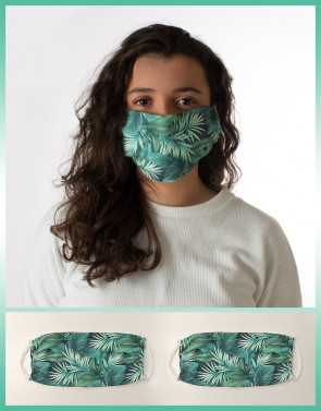 PROTECTIVE MASK WITH NATURAL PATTERN