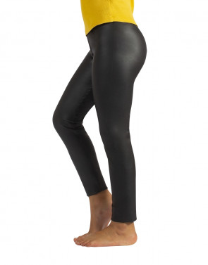 GIRL LEATHER LEGGINGS
