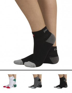 COTTON SPORT SOCKS WITH SOLE