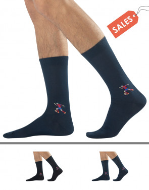 COTTON SOCKS - LOGO SPORT