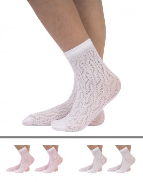 PELERINE SOCKS BRAIDED PATTERN