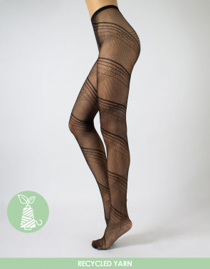 TIGHTS WITH WEAVE PATTERN – Q-NOVA RECYCLED YARN