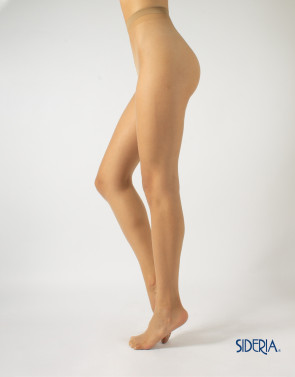 SHEER TIGHTS WITH TAN EFFECT - 8 DEN